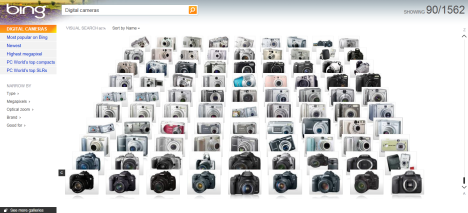 New Bing feature called Visual Search