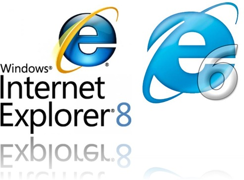 Internet Explorer 6 with Windows 7